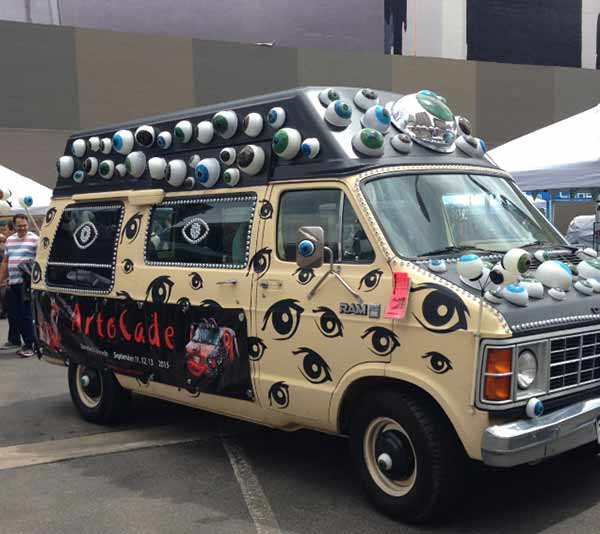 Art car by ArtOCade