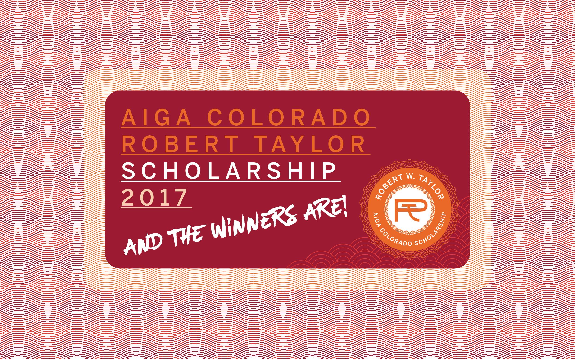 Meet the 2017 robert w taylor scholarship winners aiga colorado falaconquin